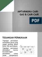 Antarmuka Cair-gas & Cair-cair