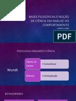 Moreira&Hanna- Bases Filosóficas