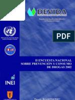 II ENCUESTA NACIONAL 2002