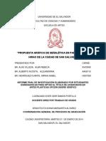 Alas Villeda, Alberto Acosta & Henríquez Duarte 2014 Propuesta