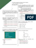 D10 (Matem. 3ª série) equaçoes 2º grau com duas incógnitas