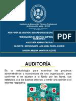 Auditoria de Gestión e Indicadores