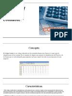 Diseño del código contable