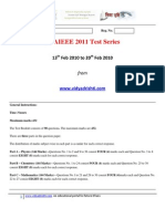 AIEEE_2011_Test_6[1]