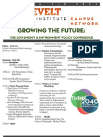 Growing the Future 2011 Conference Agenda