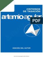Criterios de Tasación - Artemio Aguiar