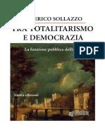 Tra Totalitarismo e Democrazia La Funzio