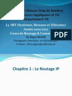 Chapitre 1 Le routage IP
