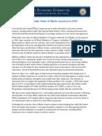 Economic State of Black America 2020