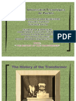 HISTORY OF THE TRANFORMER