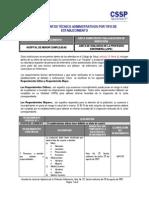 RTA - HOSPITAL DE MENOR COMPLEJIDAD JVPE