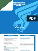 Guía para resolución de problemas en lámparas fluorescentes (troubleshooting)