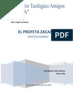 monografía Zacarías Profetas Menores