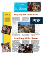 Sims Family Newsletter Jan-Mar 2011