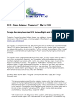 FCO Human Rights and Democracy Report 2010