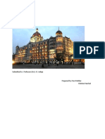 industrial analysis of hotel industry