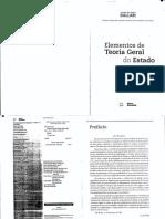 DALLARI, Dalmo De Abreu - Elementos De Teoria Geral Do Estado - (Cap. Ciência Política)