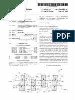 SRAM cell design (US patent 6534805)