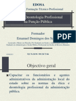 Ética e Deontologia na Administração Pública 2