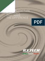 Icetech - Catálogo Maquinarias | Calemi