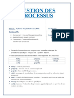 TP1-Gestion des Processus