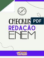 Checklist 1.0 Redação Enem