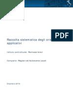 Regioni e autonomie locali - Raccolta sistematica orientamenti permessi brevi Dicembre 2016