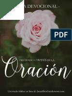 DEVOCIONAL - ORACION