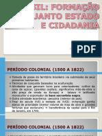 Estado e Cidadania No Brasil