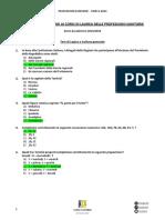 test prof. sanitarie 2013