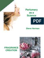 Perfumery as Science (Steeve Herman)