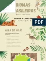 2 Slides Biomas Brasileiros PET 1 SEMANA 2