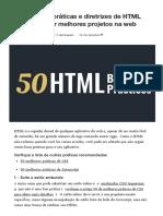 50 Melhores práticas e diretrizes de HTML para construir melhores projetos para a Web _ por Before Semicolon _ Fevereiro de 2021 _ Médio