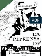 NASCIMENTO, L. História da Imprensa de Pernambuco V