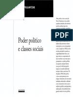 Poder Político e Classes Sociais - Nicos Poulantzas (Editora Unicamp)