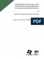 Santos - Epistemología