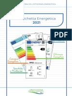 Etichetta energetica 2021 - Guida