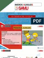 PRIMEROS AUXILIOS Tiempos COVID 2021