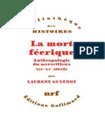 la mort feerique - Laurent Guyenot