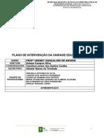 PLANO DE INTERVENÇÃO PEDAGÓGICA 2020 - PROF UDENEY