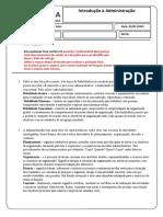 Avaliação de Pesquisa (edemilson nascimento sales )- Introdução à Administração