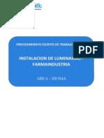 PROCEDIMIENTO TECNICO DE TRABAJO SEGURO- MANTENIMIENTO DE TUBERIAS CONDUIT