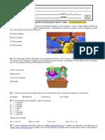 atividade diagnóstica ed fisica 7º ano
