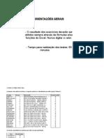 Teste Excel - Intermediário (1)