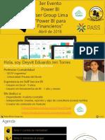 Power BI  User Group Lima - Presentación