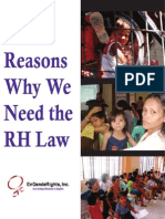 Reasons Why We Need the RH Law - EnGendeRights