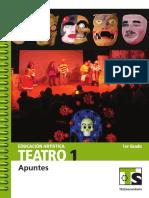 Secretaría de Educación Pública de México - Apuntes Teatro 1