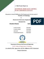 Automatic main gate control