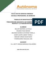 PRESCRIPCIÓN ADQUISITIVA DE DOMINIO DE PREDIO RÚSTICO Y LA FUNCIÓN NOTARIAL2
