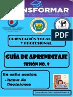 Guía de Aprendizaje Sesión No. 9